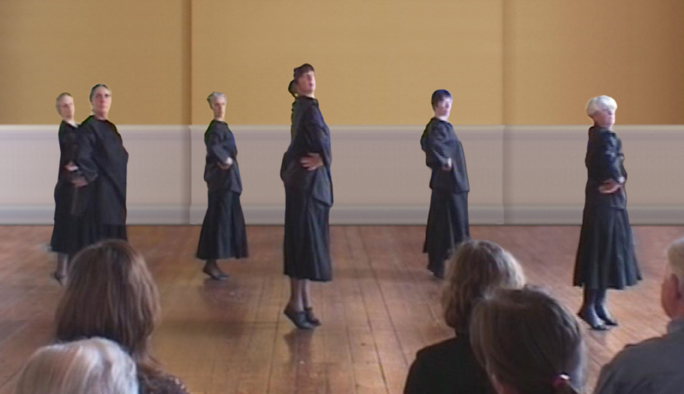 The Waltz, movements demonstration, Colet House, 2008